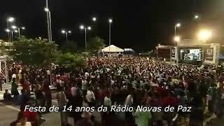 Aniversário da Rádio novas de paz.