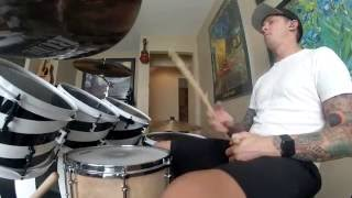 I Wanna be Like You, Christopher Walken -  Drum Cover - The Jungle Book -- John Debney