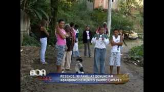 Bairro Lavapés, em Resende, passa por dificuldades