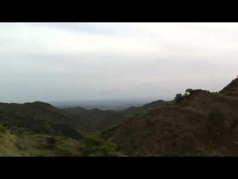 Mountain drive in pakistan