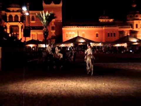 Berber warriors show in Morocco