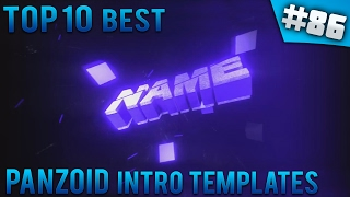 TOP 10 BEST Panzoid intro templates #86 (Free download)