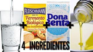 PIZZA COM 4 INGREDIENTES | Eps. 04