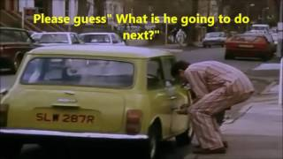 DAILY ROUTINE OF MR BEAN