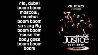 Justice Crew - Boom Boom (LYRICS)
