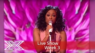 Relley covers the Queen of Soul with Natural Woman | Live Shows Week 3  | The X Factor UK 2016
