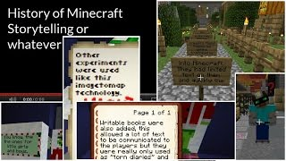 History of Storytelling in Minecraft Maps