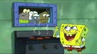 MUST WATCH!!!!!!! Spongebob sings Dynamite