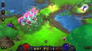 Diablo 3 Cosmic Wings | Princess Lilian | Whimsydale | Rainbow Goblin | Patch 2.4.1 | Live