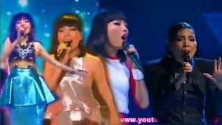 Dami Im's SOLO Parts on The x Factor (group performances)