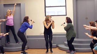 "MAMMA MIA! Farewell Tour Cast Rehearses ""Dancing Queen"""