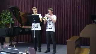 Jazz Duets in Bb (2. Red Face & 6. Middle Of Something)
