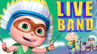 Zool Babies Series Compilation -Live Music Show Episode| Cartoons For Children | Videoyan Kids Shows