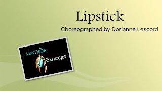 Lipstick Line Dance