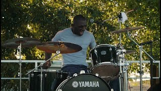 "Cedric Burnside Project ""Let My Baby Ride"" & Killer Drum Solo. Wow these guys rock."