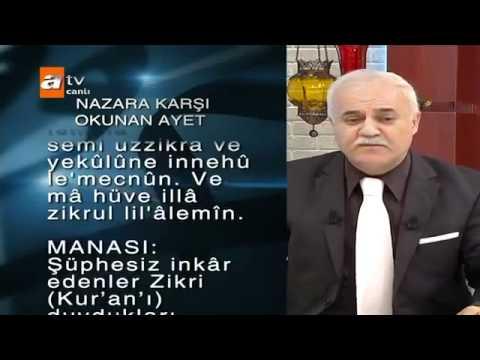 Nihat Hatipoglu- nazara karsi dua