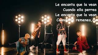 CNCO  - Se vuelve loca Spanglish version letra