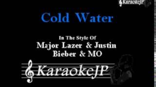 Cold Water (Karaoke) - Major Lazer & Justin Bieber & MO