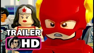 LEGO DC COMICS SUPER HEROES: THE FLASH Official Trailer (2018) LEGO Superhero Animated Movie HD