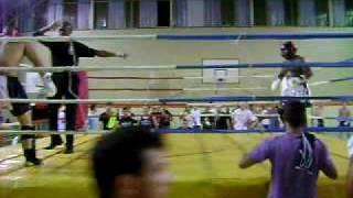 campeonato brasileiro muay thai 2009dennis pe roxo campeão
