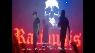 RACIONAIS MCs AO VIVO EM JOÃO PESSOA - PB - 13/05/2016