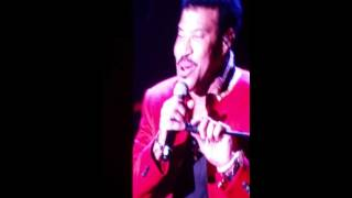 Sail On...Lionel Richie at the Axis Theater, Las Vegas