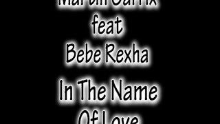 Martin Garrix  Feat.  Bebe Rexha - In the Name Of Love (LEGENDADO PT)
