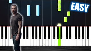 Maroon 5 - Girls Like You - EASY Piano Tutorial by PlutaX