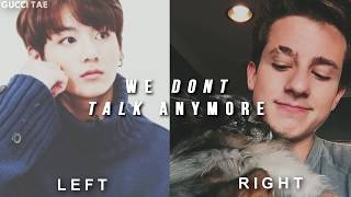 we dont talk anymore [split headphones] - jungkookxcharlie puth