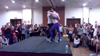 """NELSON FREITAS & C4 PEDRO """"BO TEM MEL"""" by Vie Dance and Ruddy at FEELING KIZOMBA MADRID"""