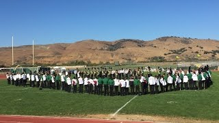 El Toro Bowl - Ann Sobrato Marching Band and Live Oak Marching Band 9-19-15