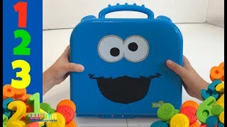Learn 123 Numbers and Colors with Cookie Monster on the Go Numbers || Learning Video for Kids