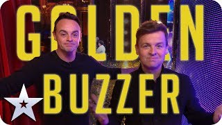 UPDATED 2019 - Ant & Dec's GOLDEN BUZZERS! | Britain's Got Talent