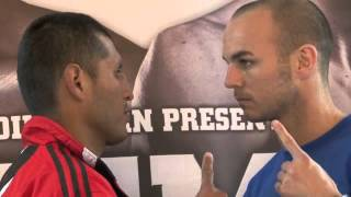 KEVIN MITCHELL v MARCO LOPEZ - HEAD TO HEAD @ FINAL PRESS CONFERENCE 'CARPE DIEM'
