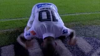Santos x Ponte Preta   Campeonato Brasileiro 2016  GOL DE GABRIEL