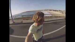 Jose' Gonzalez - Stay Alive (on a skateboard)