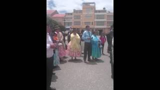 Matrimonio alvaro y Verónica en Yunguyo Perú