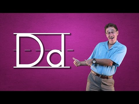 Learn The Letter D
