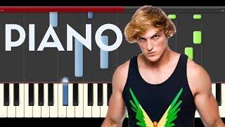 Logan Paul Help Me Help You Why Don't We Piano Midi tutorial Sheet app Pista Track Cover Karaoke