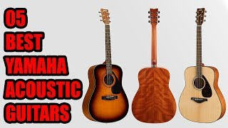 5 Best Yamaha Acoustic Guitars 2018 | The World's Best Starter Guitars 2018