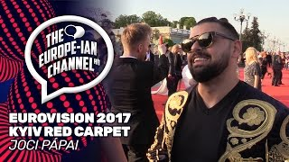 Joci Pápai - Eurovision 2017 Red Carpet