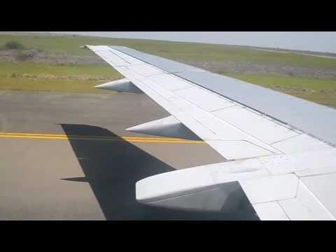 Kenya Airways Boeing 737-300 Landing in Nairobi from Mombasa