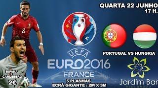 TVI 24 | Jardim Bar | Euro 2016 | Praça Euro Vila Real | 22-06-2016