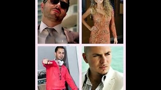 Ahmed Chawki Feat  Sophia Del Carmen Pitbull   Habibi I Love You Remix Dj J FIRE