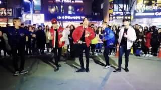 블랙핑크(BLACKPINK) - 불장난(PLAYING WITH FIRE) Vocal cover Busking in Hongdae