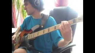 Sleeping in my car by Roxette - bass cover
