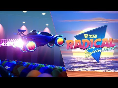 WTFF::: Prepare to Get Totally Radical With Rocket League\'s Newest Summer Event
