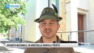TG TREVISO (07/05/2018) - ADUNATA NAZIONALE, IN 4000 DALLA MARCA A TRENTO