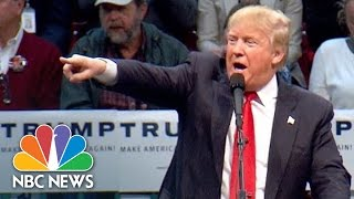 Donald Trump Tells Protester 'Go Home To Mommy' | NBC News