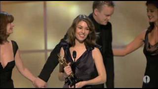 Sofia Coppola winning Best Original Screenplay